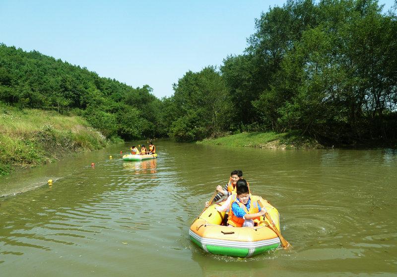 明光一日游之八岭湖旅游度假村游玩攻略高清图片